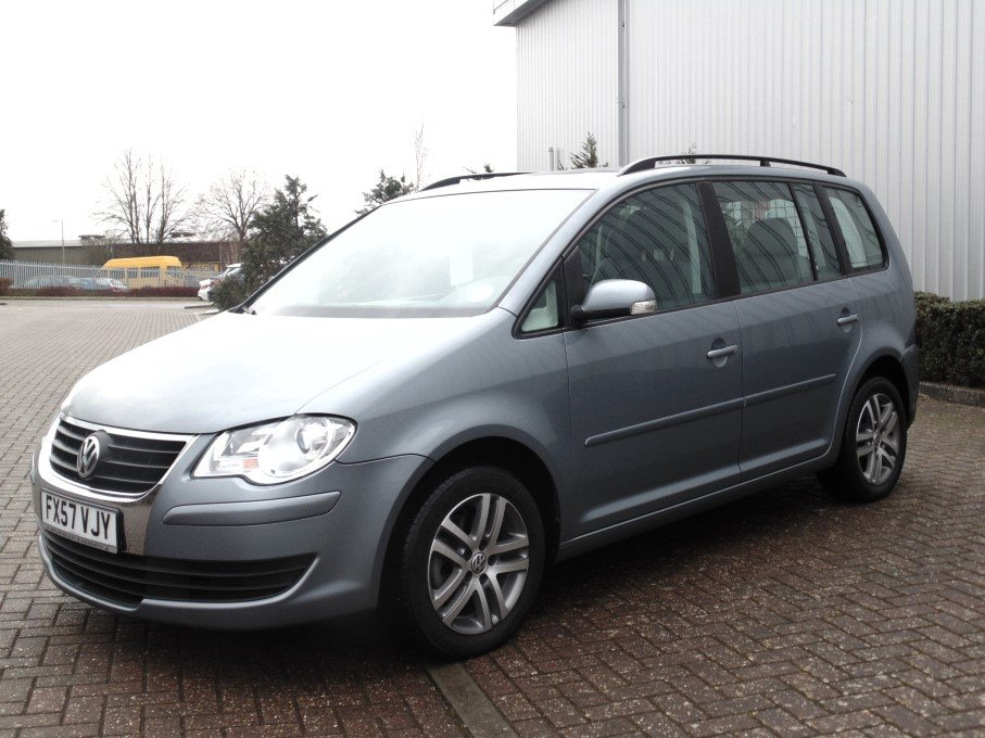 Vw Touran 2 0 Tdi Automatic 2007 For Sale At The Lhd Place