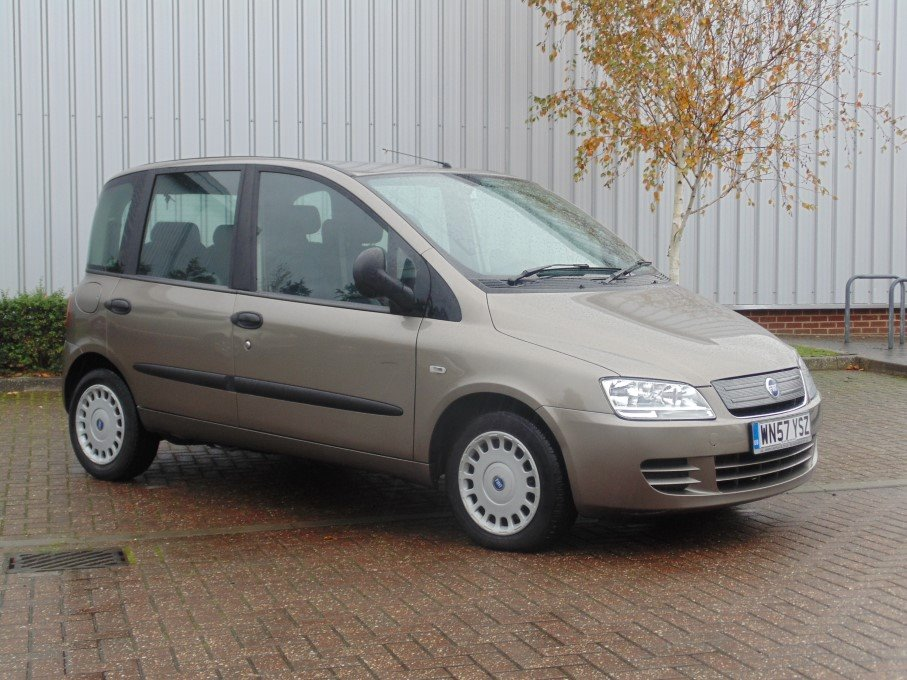 Fiat Multipla 1 9 Jtd  2007  For Sale At The Lhd Place  Basingstoke Uk
