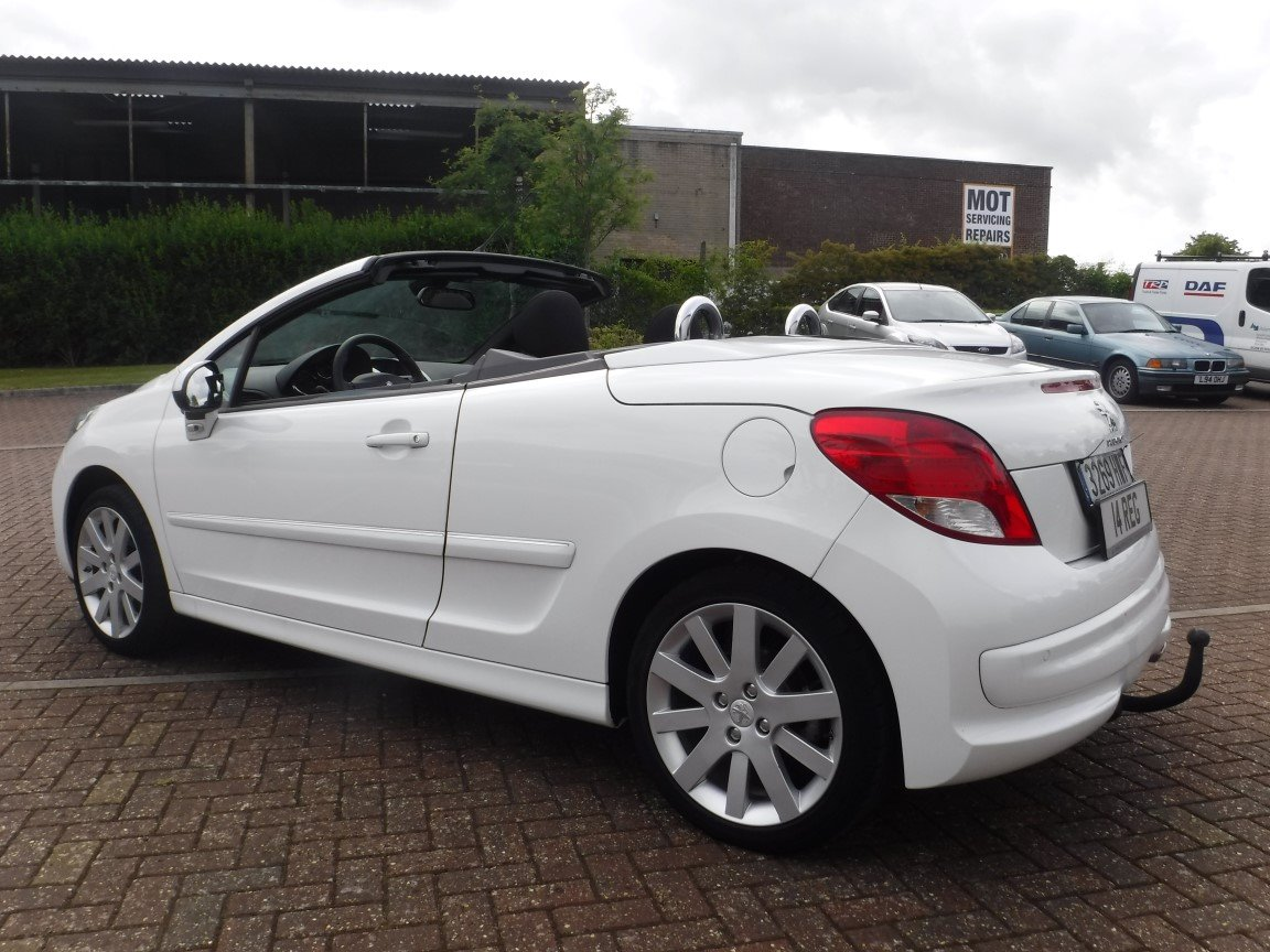 Peugeot 207 Cc 1 6 Hdi 2014 For Sale At The Lhd Place