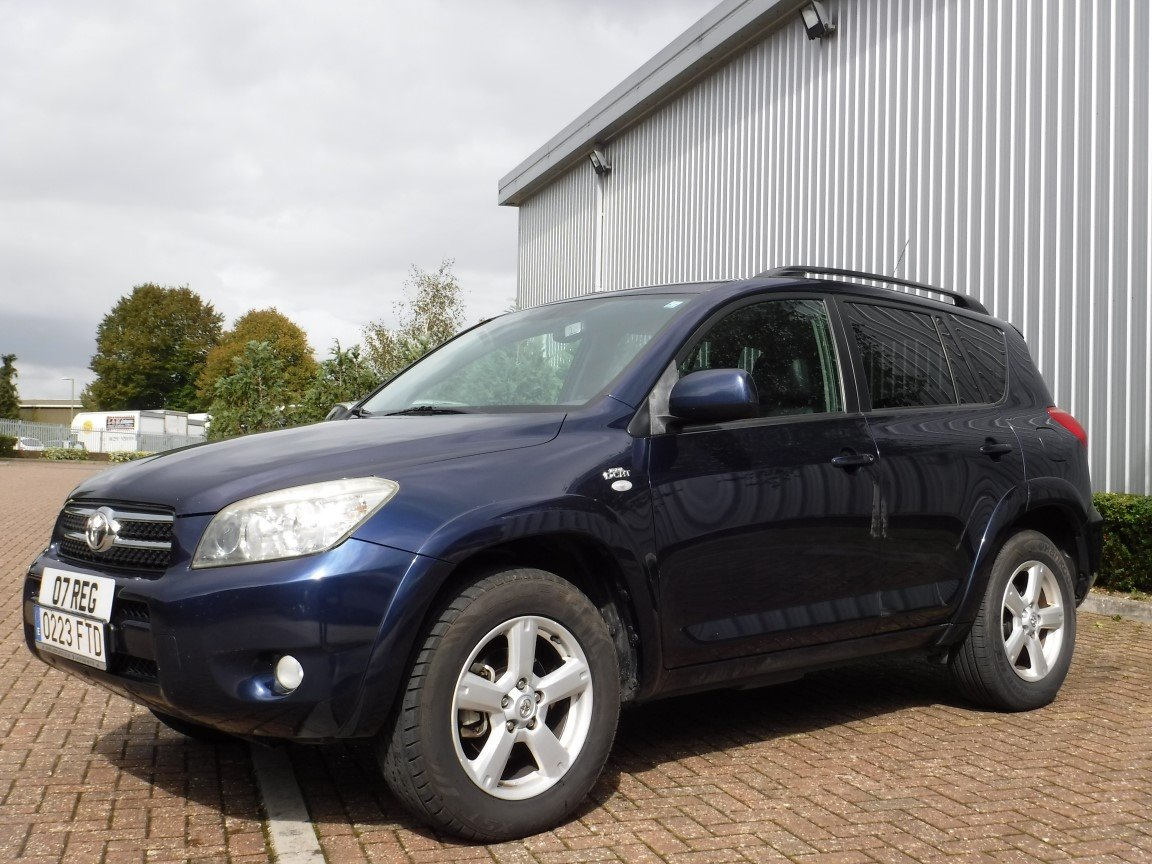 Toyota Rav 4 D4d 2007 For Sale At The Lhd Place Basingstoke Uk